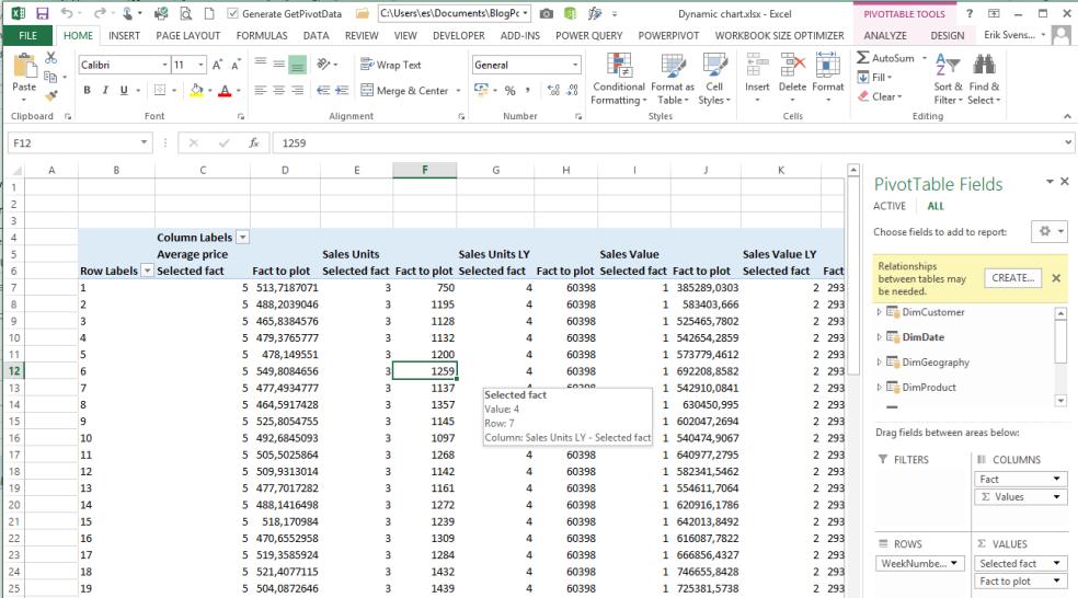 Excel – Page 2 – Erik Svensen – Blog about Power BI, Power