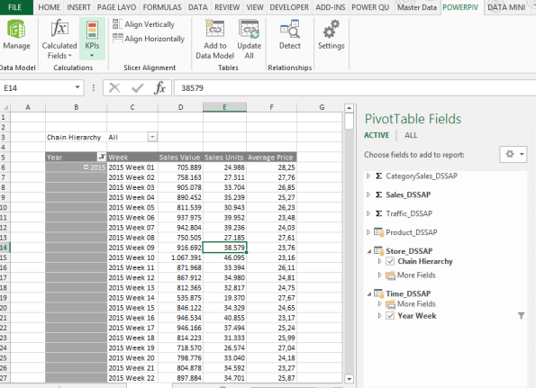 Be aware of this feature when publishing Excel power pivot