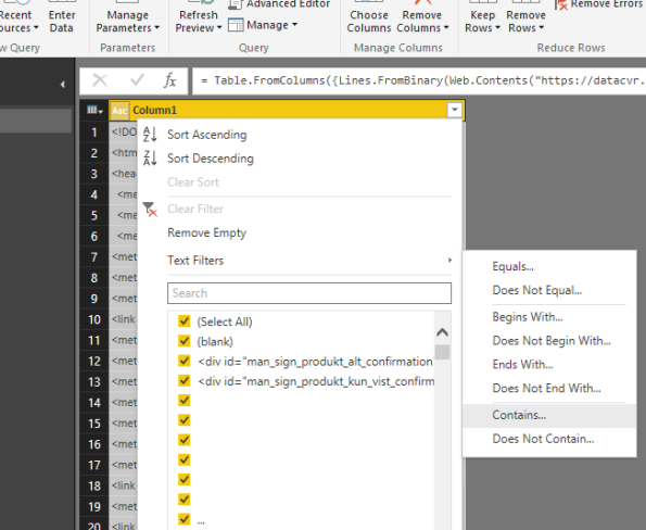 Annual accounts for Microsoft Denmark using #PowerBI and XBRL