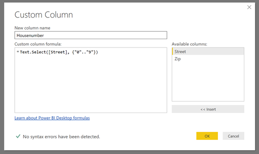 Extraction of number (or text) from a column with both text and number – #PowerQuery #PowerBI