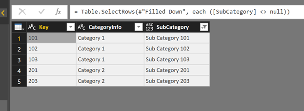 #PowerQuery – Replace Values in one column with the value in another column