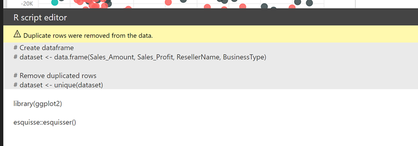 Designing R chart in #Powerbi just got a lot easier for a R novice