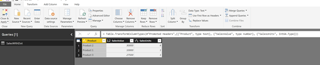 #powerquery – How to handle different decimal separator when importing csv files