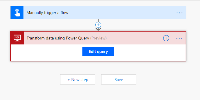 #PowerQuery everywhere : ) – now in #microsoftflow as well