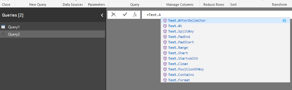 How to get help for any function in #PowerQuery