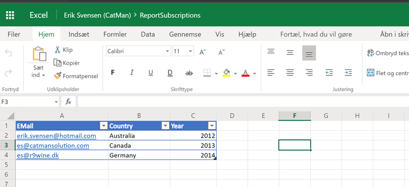 Setup data driven report subscriptions for #PowerBI paginated reports with #PowerAutomate