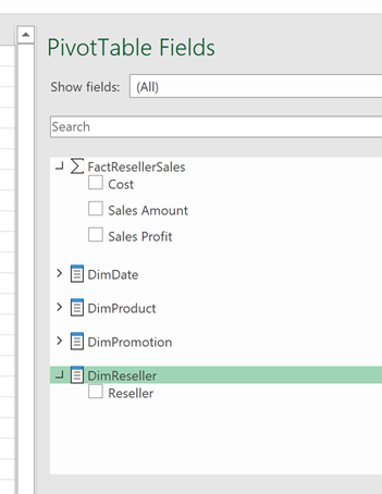 113020 2035 usehiddenme2 Use hidden measures and members from #PowerBI dataset in an Excel Pivot table